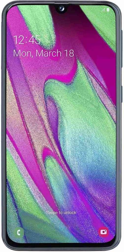 smartphone samsung galaxy a40