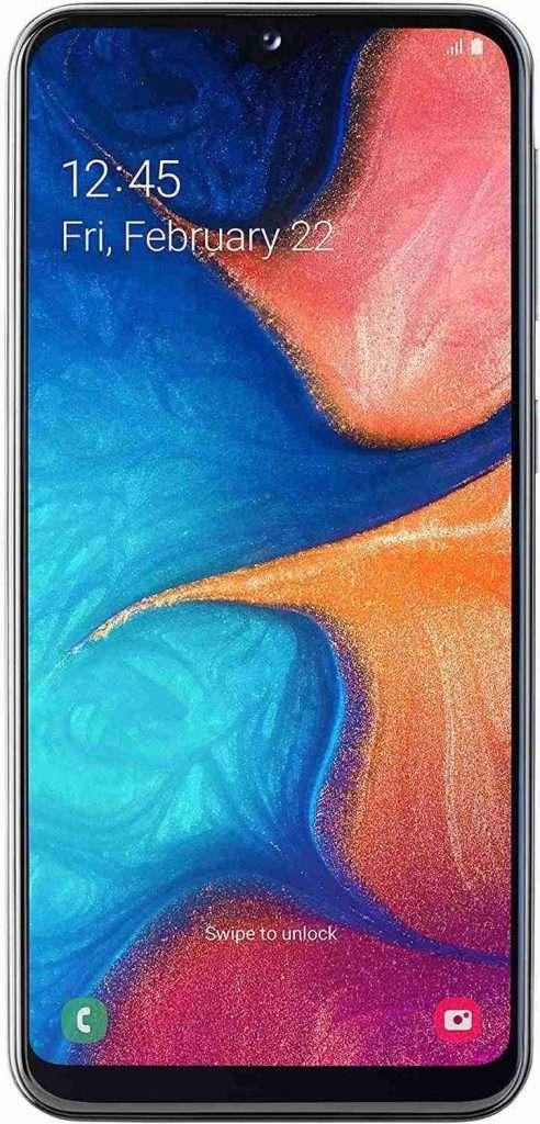 smartphone samsung galaxy a20e