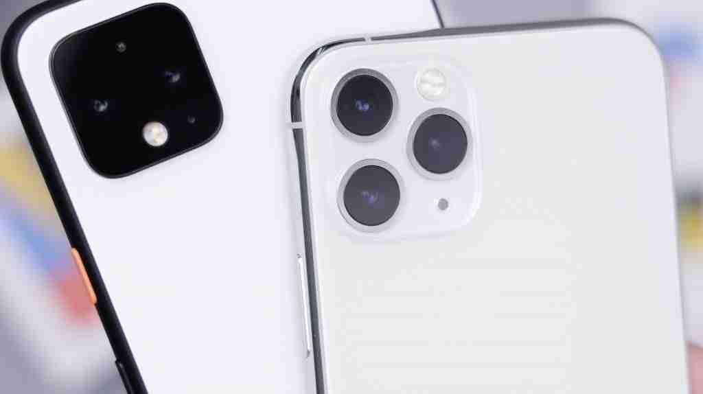 iphone 11 pro max e google pixel 4 xl a confronto