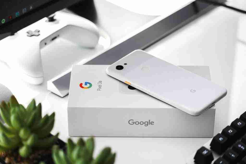 confezione google pixel 3a