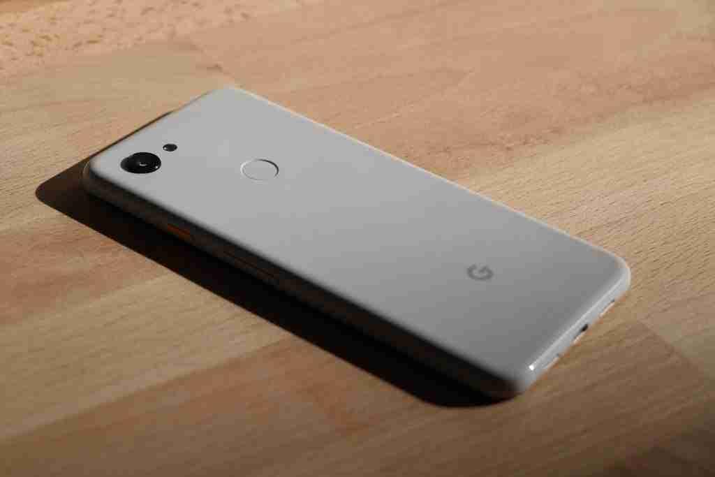 costruzione e design google pixel 3a